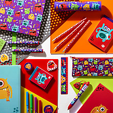 Buy Fourth Wall Brands Monsters Stationery Range Online at johnlewis.com