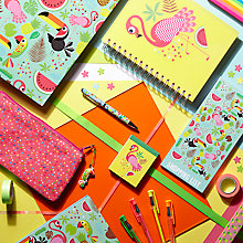 Buy Fourth Wall Brands Tropicalia Stationery Range Online at johnlewis.com