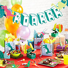 Buy Meri Meri Dinosaur Party Range Online at johnlewis.com
