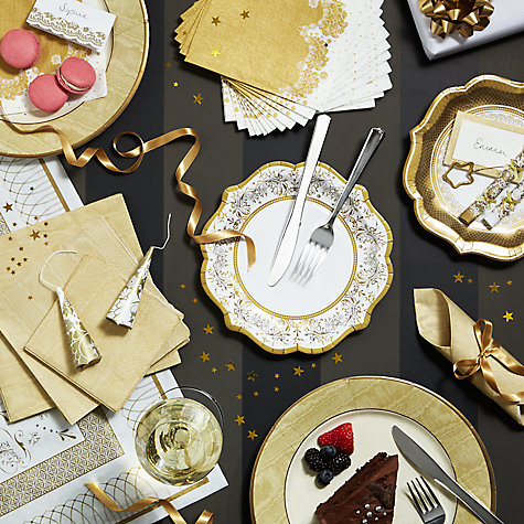 Buy Gold & Silver Party Range Online at johnlewis.com