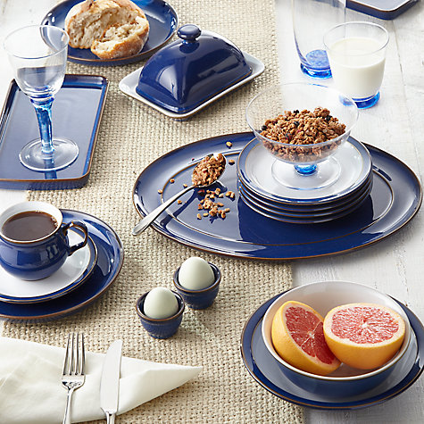 Buy Denby Imperial Blue Tea / Coffee Cup & Saucer Online at johnlewis.com
