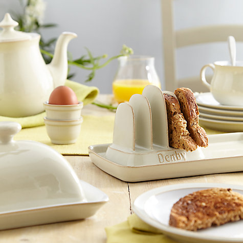 Buy Denby Linen Egg Cup Online at johnlewis.com