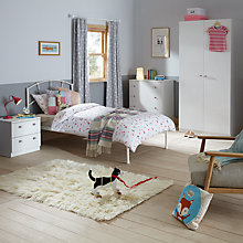 Buy little home at John Lewis Mix it Pink Crystal Handle Bedroom Range Online at johnlewis.com