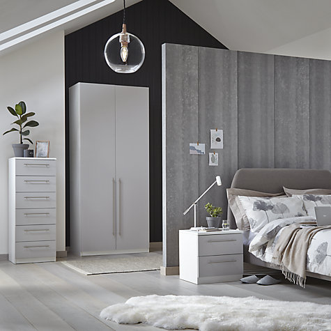 Buy House by John Lewis Jamie Bed Frame, Grey, Double Online at johnlewis.com