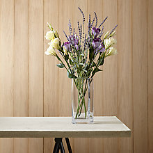Buy Create Your Own Lisianthus and Lavender Arrangement Online at johnlewis.com