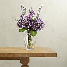 Create Your Own Purple Lisianthus and Hydrangea Arrangement
