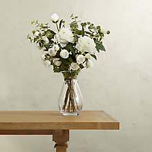 Buy Create Your Own White Peony and Rose Arrangement Online at johnlewis.com
