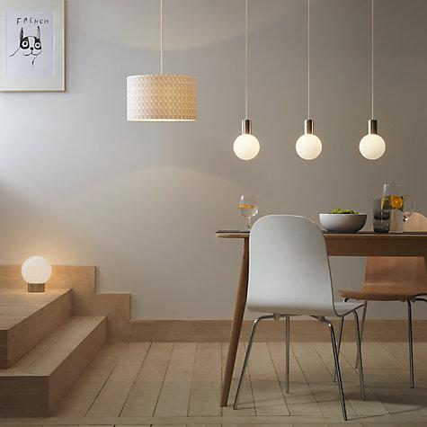 buy house by john lewis pendulum ceiling light john lewis. Black Bedroom Furniture Sets. Home Design Ideas