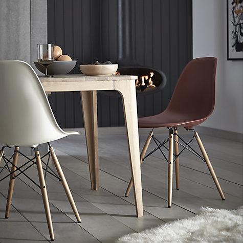 buy vitra eames dsw 43cm side chair john lewis. Black Bedroom Furniture Sets. Home Design Ideas