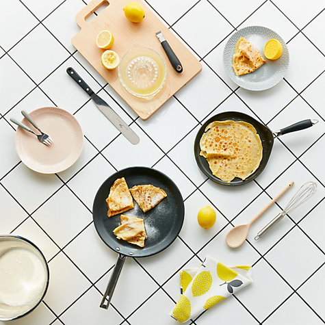 Buy John Lewis Speciality Stainless Steel Non Stick Pancake/Crepe Pan, Dia.28cm Online at johnlewis.com