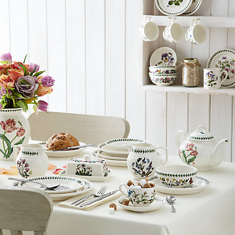 Buy Portmeirion Botanic Garden Pasta Bowl, Sweet William, Dia.20cm Online at johnlewis.com