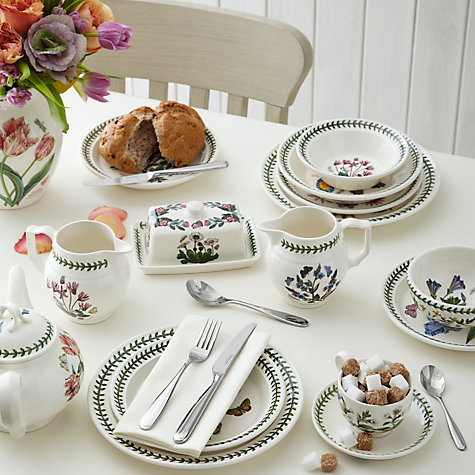 Buy Portmeirion Botanic Garden Tea Saucer, Dia.15cm, White Online at johnlewis.com