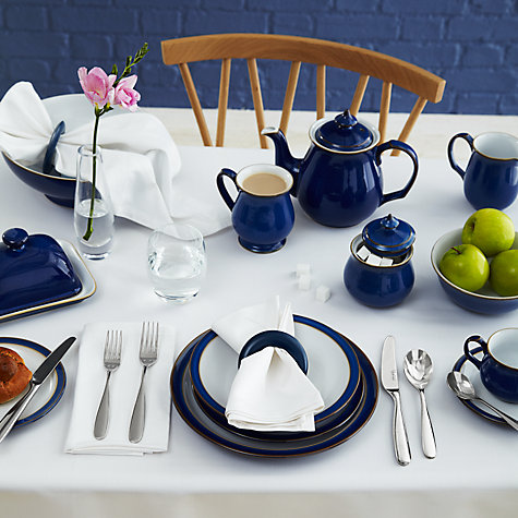 Buy Denby Imperial Blue Teapot, 1L Online at johnlewis.com