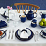 Buy Denby Imperial Tea Saucer, Dia 7.25cm, Blue Online at johnlewis.com