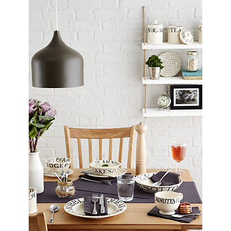 Buy Emma Bridgewater Black Toast Breakfast Cup, 0.3L, White Online at johnlewis.com