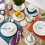 Buy John Lewis Croft Collection Luna Salad Plate, Dia.21.5cm Online at johnlewis.com