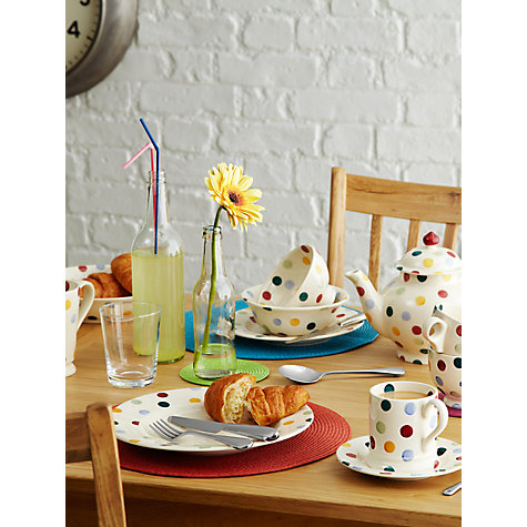 Buy Emma Bridgewater Polka Dots Cereal Bowl, Multi, Dia.16.5cm Online at johnlewis.com