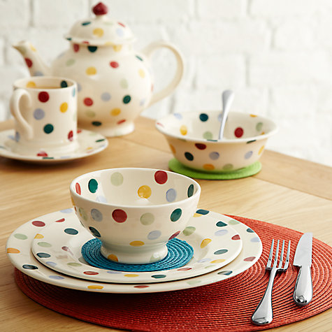 Buy Emma Bridgewater Polka Dot French Bowl Online at johnlewis.com