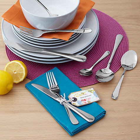 Buy John Lewis Cafe Dessert Fork Online at johnlewis.com