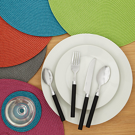 Buy John Lewis The Basics Cutlery Set, 16 Piece Online at johnlewis.com
