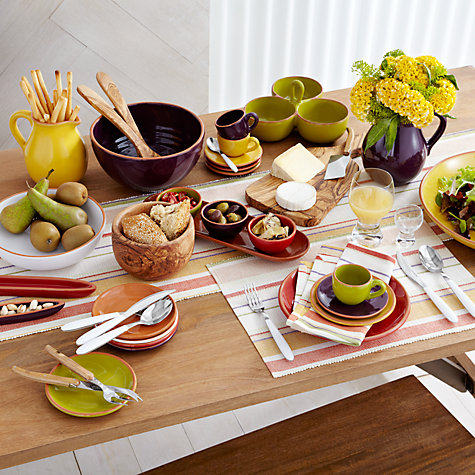 Buy John Lewis Olive Wood Serveware Online at johnlewis.com