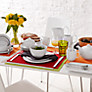 Buy House by John Lewis Rimmed Tableware, 12 Piece Online at johnlewis.com