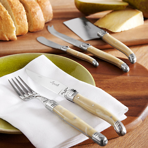 Buy Laguiole Cream Boxed Cutlery Set, 32 Piece Online at johnlewis.com