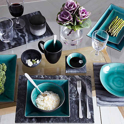Buy John Lewis Oriental Teal Tableware Online at johnlewis.com
