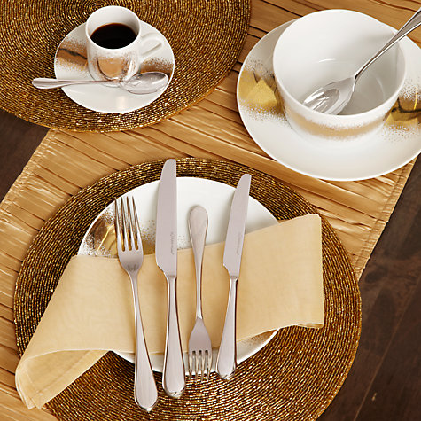 Buy Studio William Mulberry Mirror Dessert Fork Online at johnlewis.com