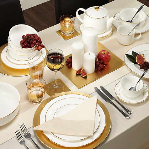 Buy John Lewis Lacquer Rectangular Placemats, Set of 6 Online at johnlewis.com