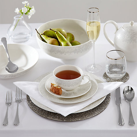 Buy Denby Monsoon Lucille Cup & Saucer Online at johnlewis.com