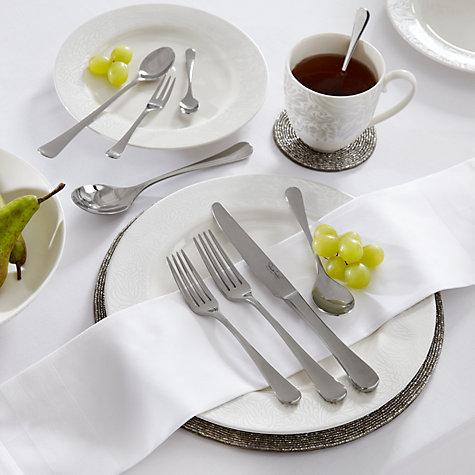 Buy Robert Welch Radford Dessert Spoon, Silver Plated Online at johnlewis.com