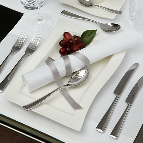 Buy Villeroy & Boch New Wave Gourmet Plate, White, Dia.33cm Online at johnlewis.com