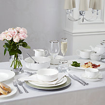 Queensberry Hunt for John Lewis Platinum Tableware