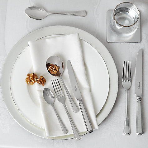 Buy Arthur Price Grecian Dessert Fork Online at johnlewis.com