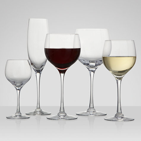 Buy Dartington Crystal Chateauneuf Goblets, Set of 2, Clear Online at johnlewis.com