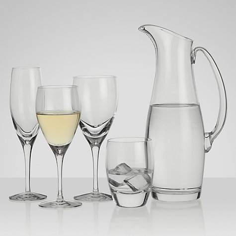 Buy Dartington Crystal Eleanor Goblets, Box of 2, Clear Online at johnlewis.com