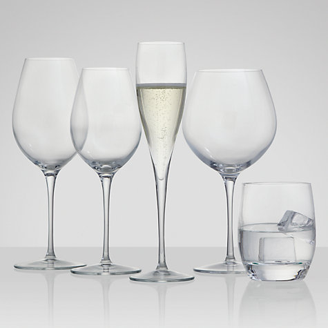Buy John Lewis Connoisseur Wine Glasses, 0.49L, Set of 4 Online at johnlewis.com