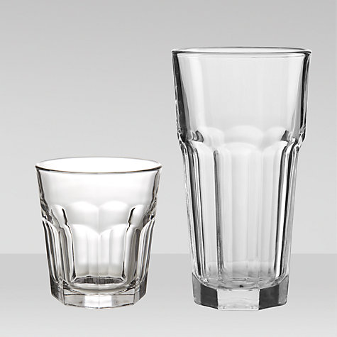 Buy House by John Lewis Gibraltar Glassware Online at johnlewis.com