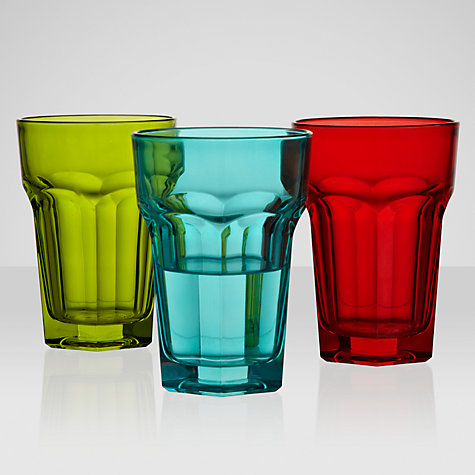 Buy House by John Lewis Glassware, Multi Online at johnlewis.com