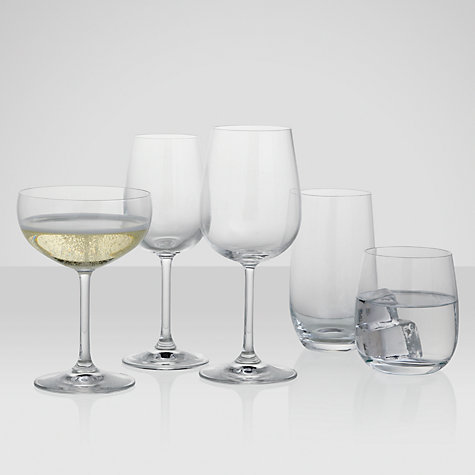 Buy John Lewis Juno Champagne Saucers, 0.25L, Set of 4 Online at johnlewis.com