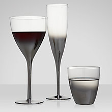 Buy John Lewis Metallic Fade Glassware Online at johnlewis.com