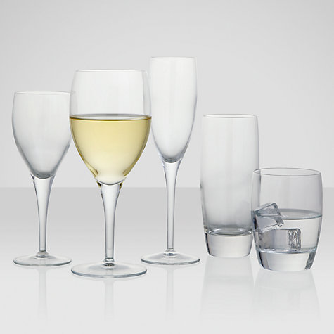 Buy John Lewis Michelangelo Glassware, Highball, Set of 4, Clear Online at johnlewis.com
