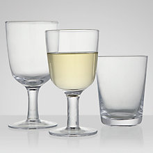 Buy John Lewis Piccolo Glassware Online at johnlewis.com
