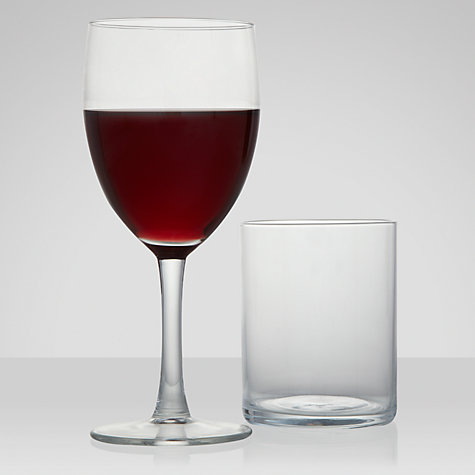 Buy John Lewis The Basics Glassware Online at johnlewis.com