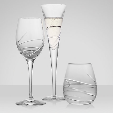 Buy Waterford Crystal Ballet Ribbon Flute Pair, Set of 2 Online at johnlewis.com