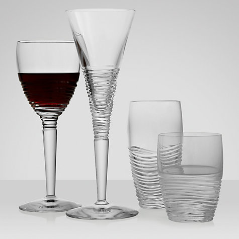 Buy Jasper Conran for Waterford Crystal Strata Goblets, Box of 2, Clear Online at johnlewis.com