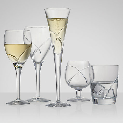 Buy Waterford Crystal Siren Champagne Flutes, 0.15L , Set of 2 Online at johnlewis.com