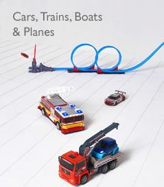 Cars, Trains, Boats & Planes