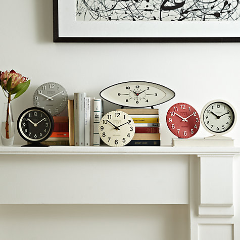 Buy Newgate Bullitt Clock, Black Online at johnlewis.com